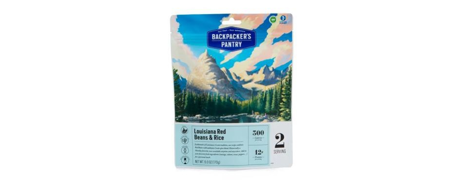 backpackers pantry louisiana beans and rice