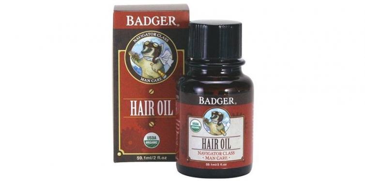 Badger Men's Hair Oil
