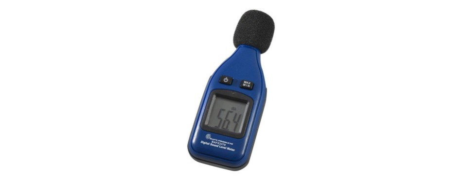 bafx products - spl - decibel meter