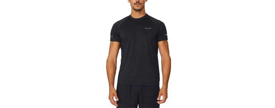 baleaf men's quick dry short sleeve t-shirt
