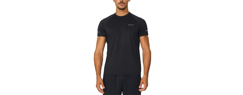 baleaf men's quick dry short sleeve t-shirt
