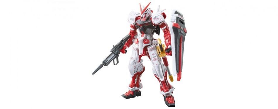 bandai real grade gundam model kit astray red frame
