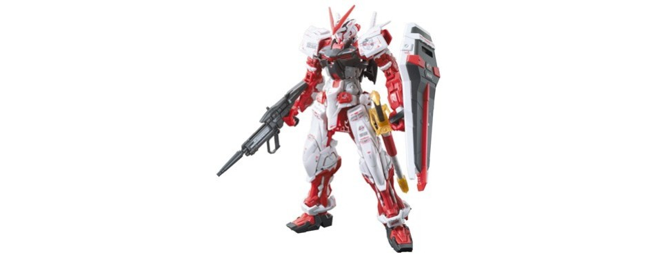 bandai real grade gundam model kit astray red frame