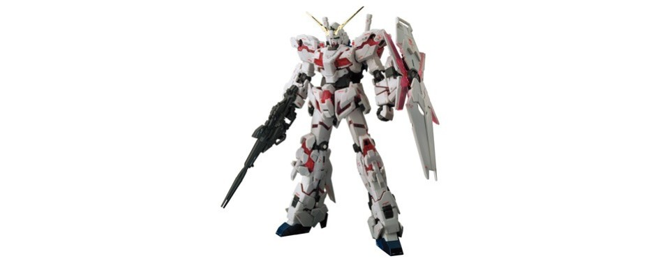bandai real grade unicorn gundam model kit