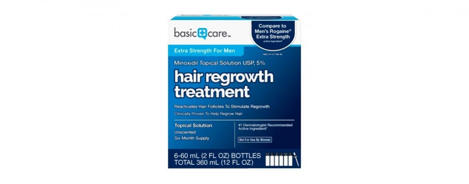 basic care minoxidil topical solution 5%
