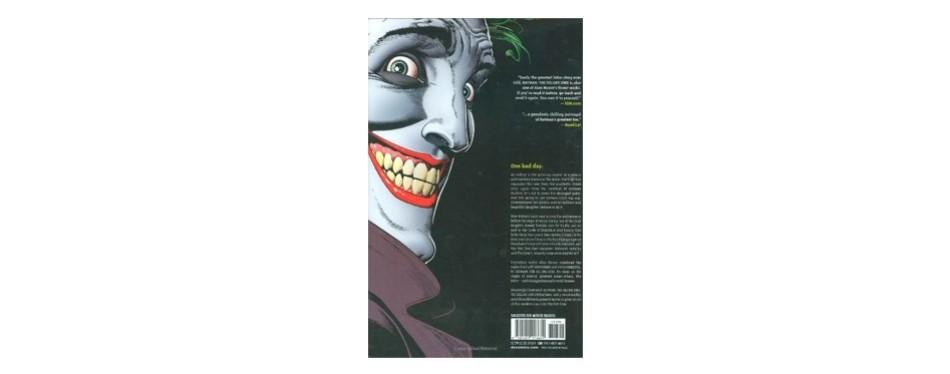 batman the killing joke, deluxe edition by allan moore
