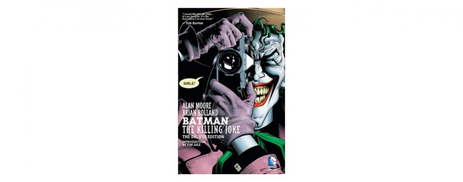 batman the killing joke, deluxe edition by allan moore