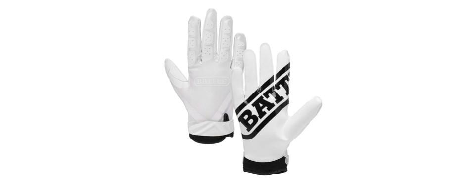battle ultra-stick receiver gloves