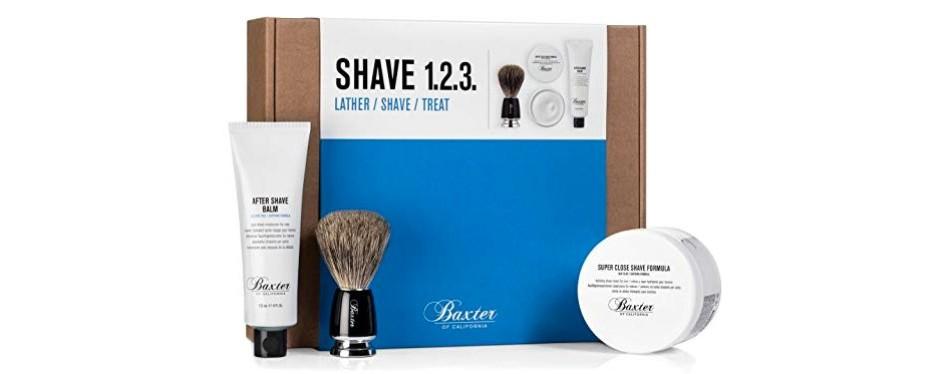 baxter of california shave 123 set