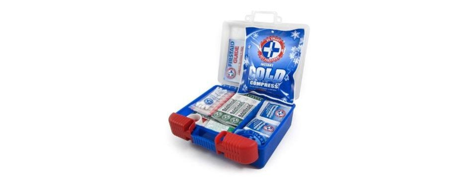 be smart get prepared 100 piece first aid kit