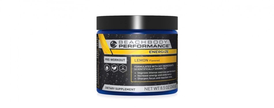 beachbody performance: energize
