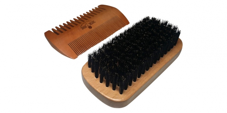 Grow a Beard Beard Brush and Comb Set for Men