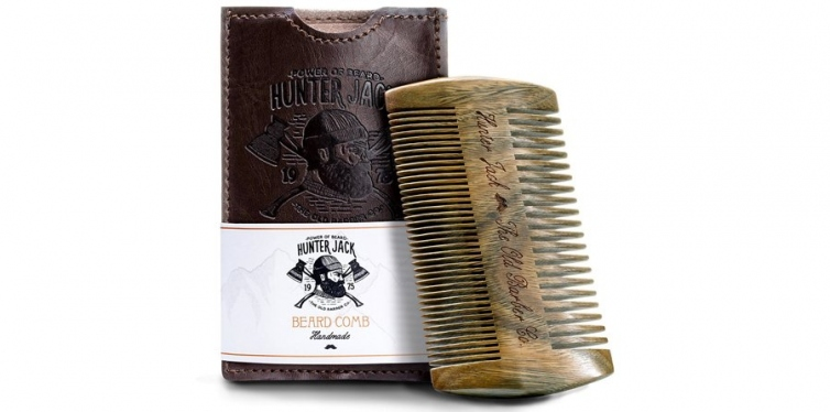 Hunter Jack Beard Comb Kit for Men