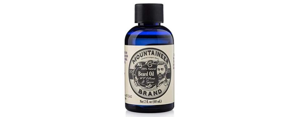 beard oil by mountaineer brand