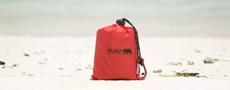 bearz outdoor beach camping blanket