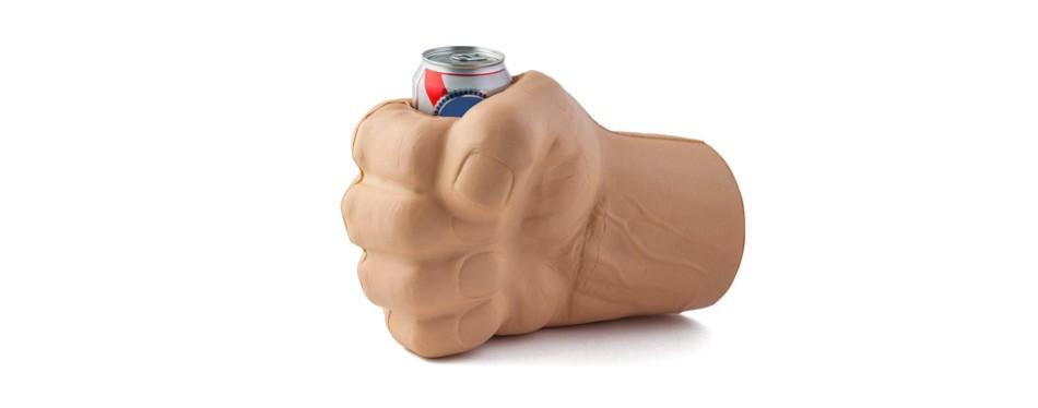 beast giant fist shaped drink kooler
