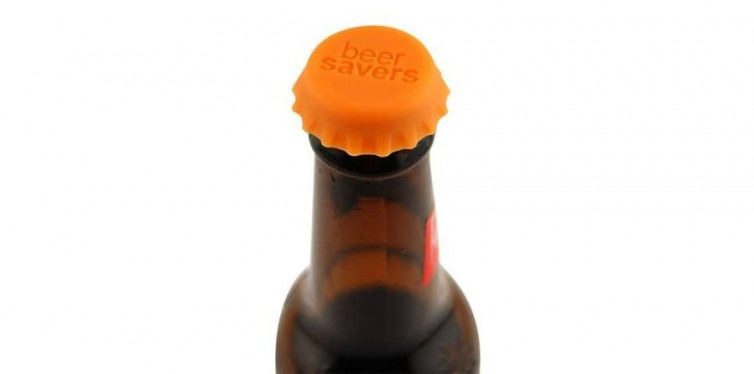 Beer Savers Silicone Rubber Bottle Caps