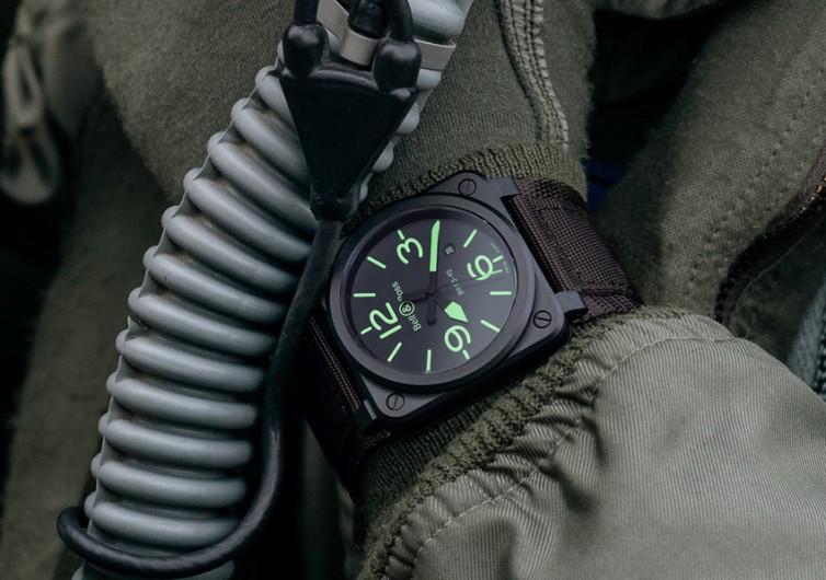 Bell&Ross 03-92 NIGHTLUM Watch