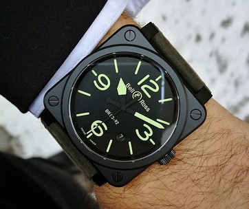 Bell&Ross 03-92 NIGHTLUM Watch