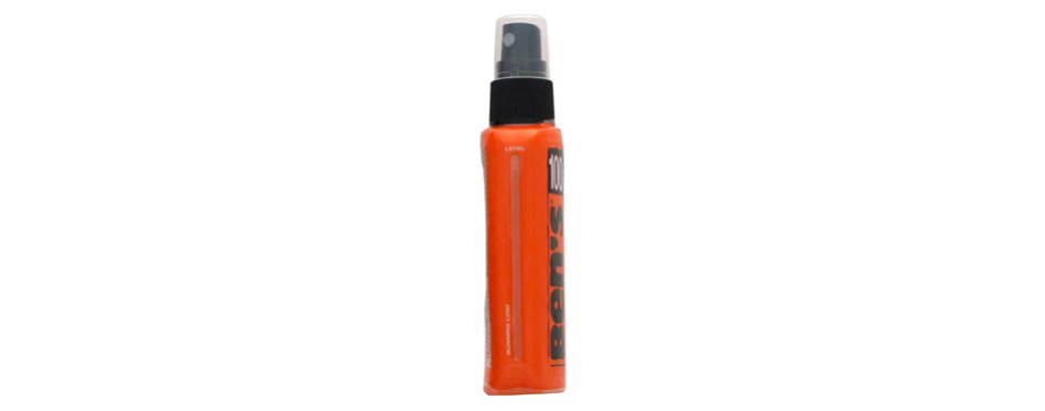 ben's 100% deet fragrance-free bug repellent