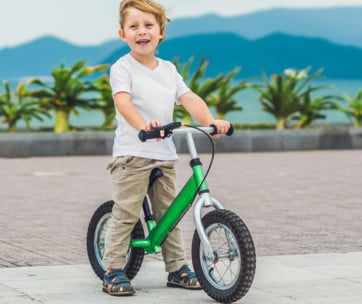 benefits of kids balance bikes