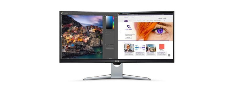 benq ex3501r 21:9 curved ultrawide monitor