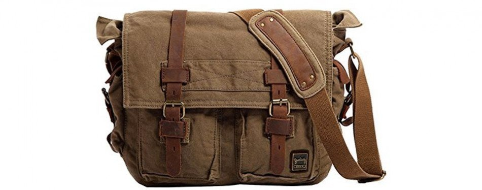 berchirly vintage military men s canvas. See More Reviews. Berchirly  Vintage Military Men s Canvas Messenger Bag 6a8843b50ebce