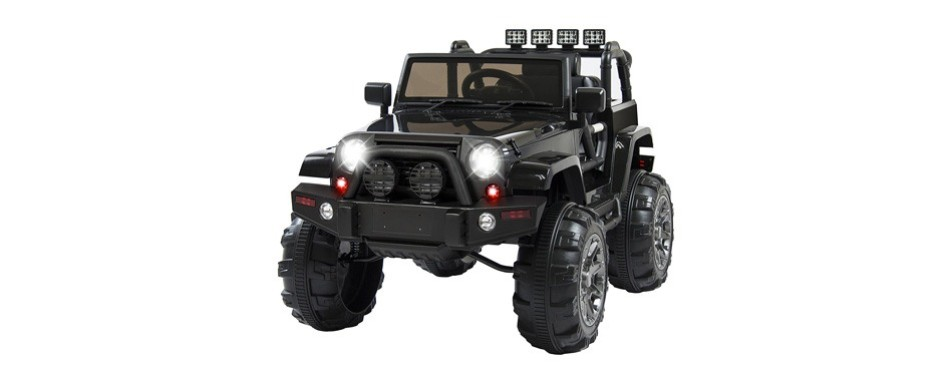 best choice products - 12v ride on car truck w/ remote control