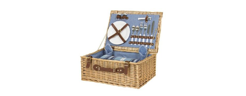 best choice products 2 person picnic basket