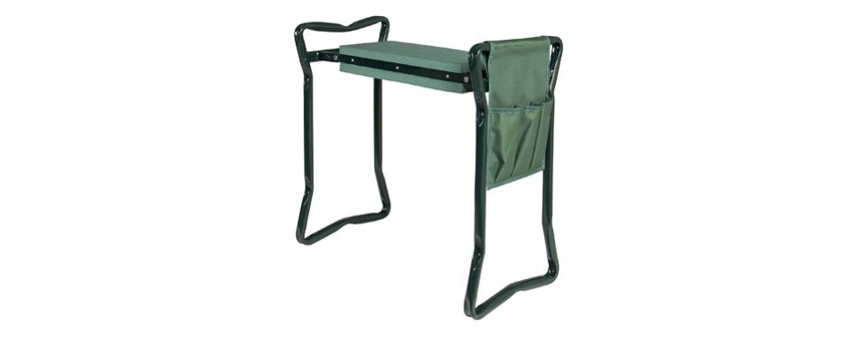 best choice products foldable garden kneeler and seat