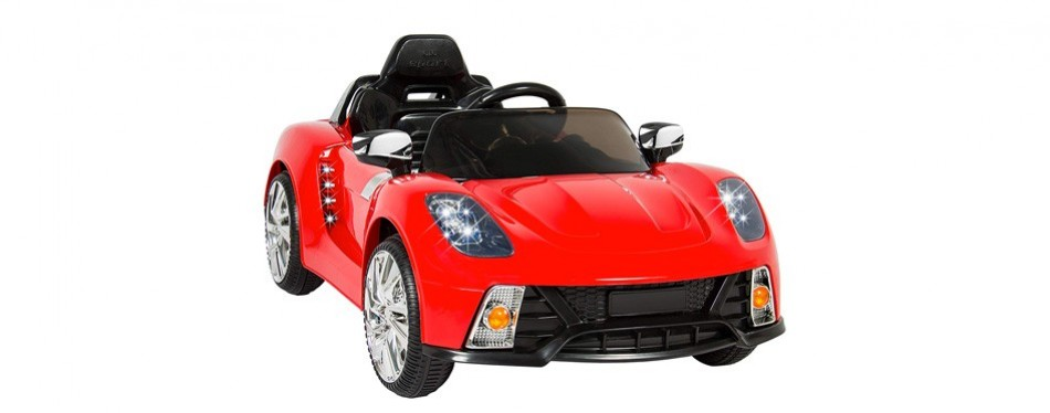 best choice products ride on kids sports car