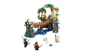 lego ninjago movie master falls building set