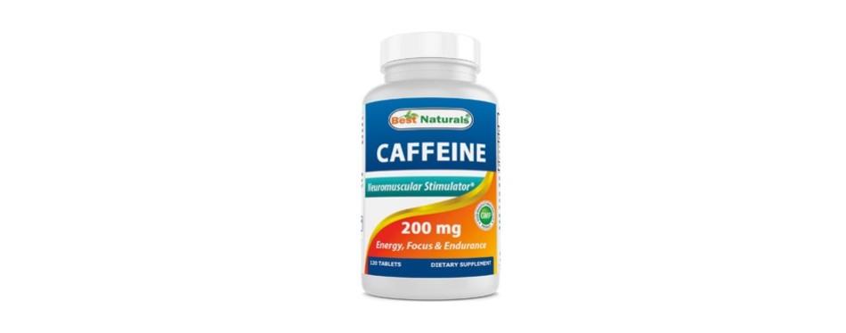 best naturals caffeine pills 200mg