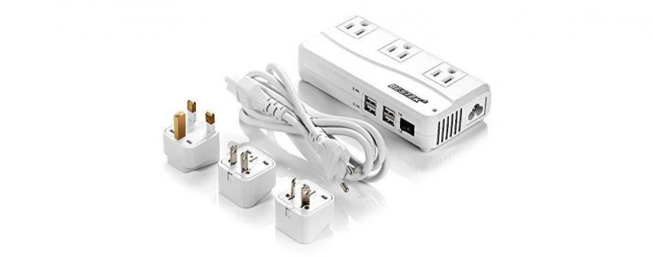 bestek universal travel adapter voltage converter