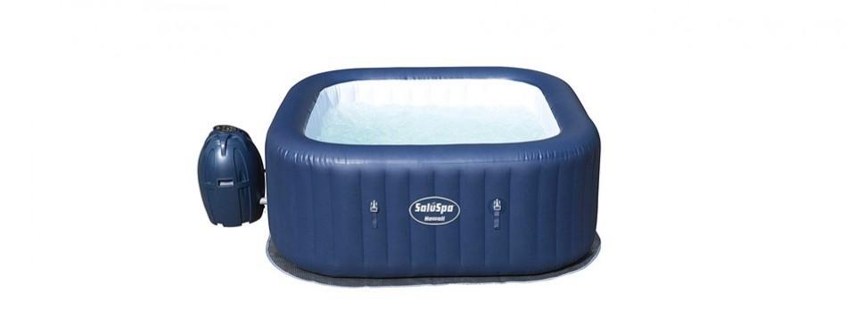 bestway hawaii air jet inflatable outdoor spa