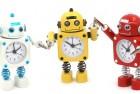 betus non-ticking robot kids alarm clock