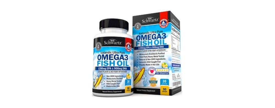 bioschwartz omega-3 fish oil supplement