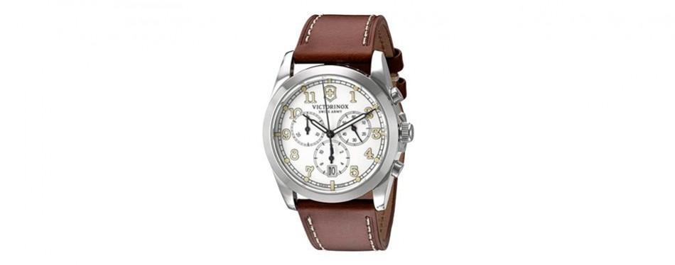 black dial ss quartz movement watch