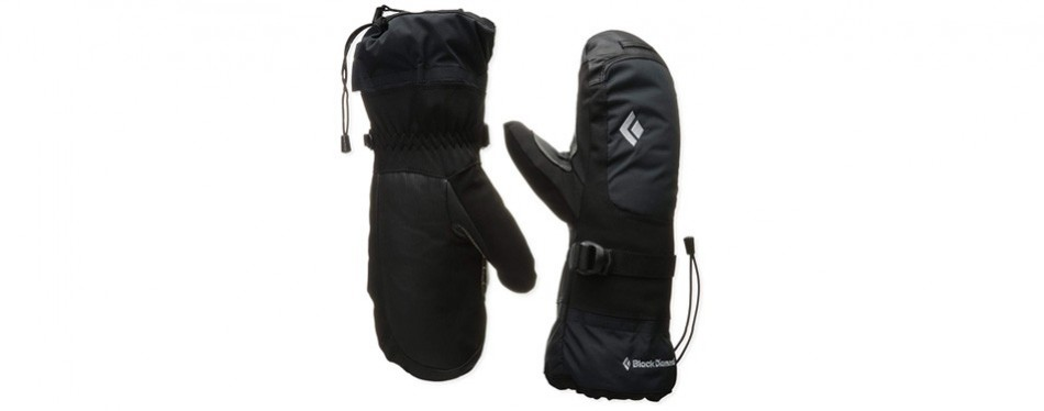 black diamond mercury mitts cold weather hiking gloves