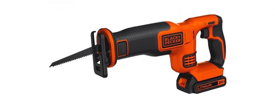 black+decker bdcr20c 20v max reciprocating saw