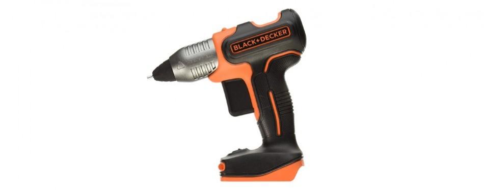 black+decker cordless glue gun