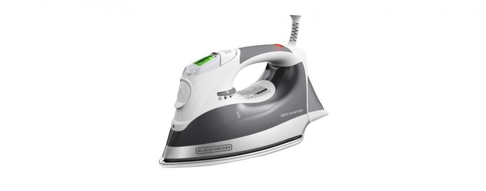 black+decker digital advantage professional steam iron