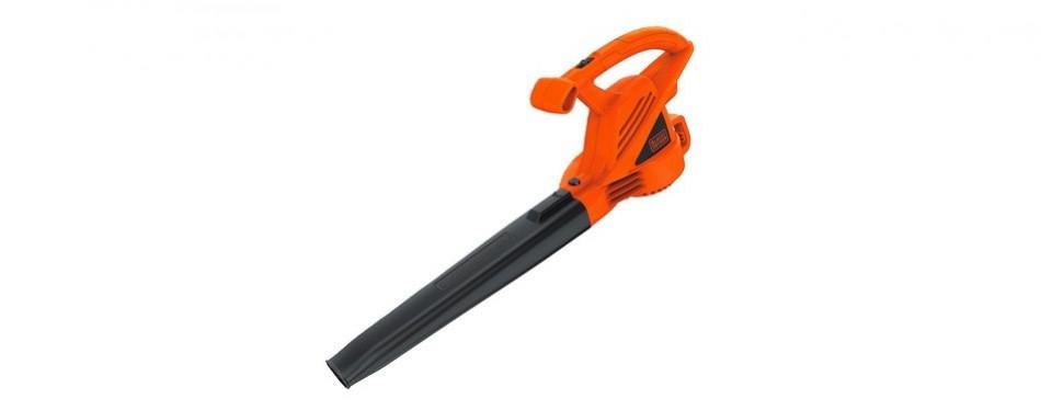 black+decker lb700 7-amp corded leaf blower