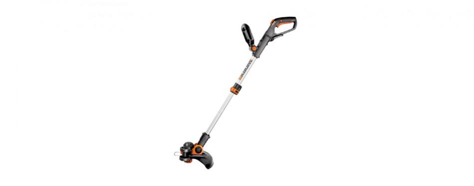 worx wg163 gt cordless grass trimmer