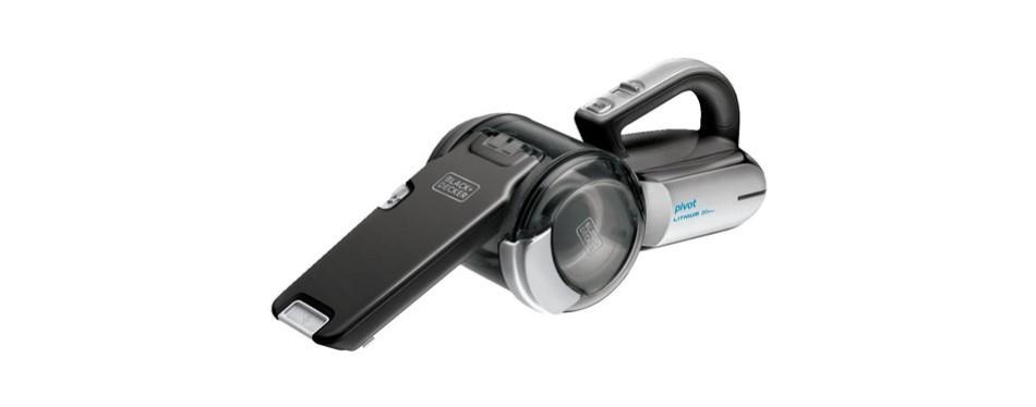 black+decker max lithium pivot handheld vacuum
