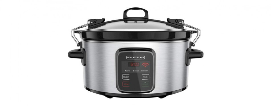 black+decker programmable crock pot