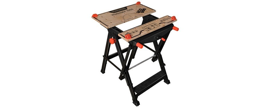 black+decker wm11000 workmate workbench 550 lb capacity