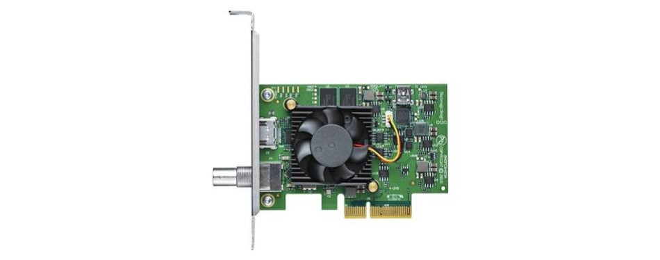 blackmagic design decklink mini recorder 4k pcie capture card
