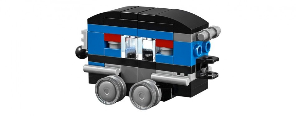 blue express lego creator set