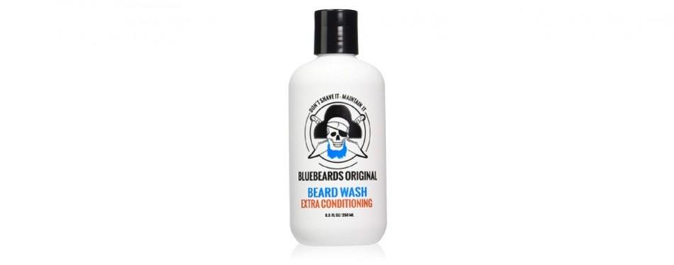 bluebeards original beard wash with extra conditioning